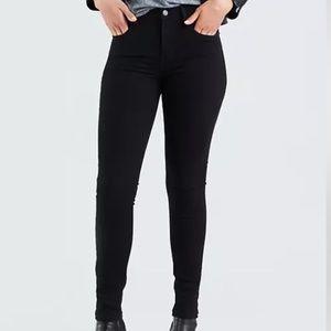 Levi's Premium 721 High Rise Skinny Jeans 25x28